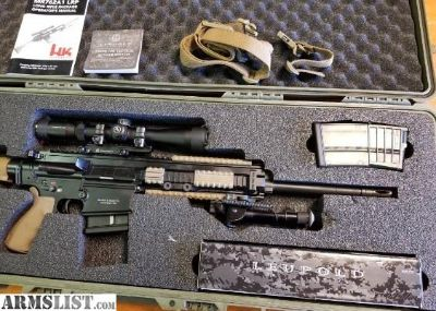 For Sale: HK MR762A1 Long Rifle Package