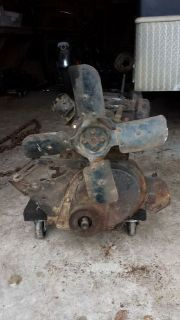 Purchase Willys Jeep F-134 Block, Crankshaft, Exhust Manifold Water Pump for Parts motorcycle in Canon, Georgia, United States, for US $39.00