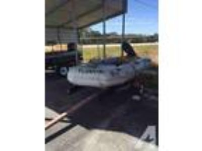Nissan Inflatable Boat with Trailer