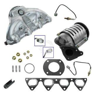 Purchase Catalytic Converter & Oxygen Sensors w/ Tool Kit for Honda California Emissions motorcycle in Gardner, Kansas, United States, for US $254.20