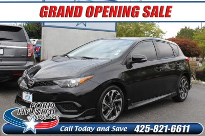 2016 Scion iM (Black Sand Pearl)