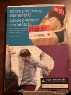Adobe Photoshop Elements and Premiere Elements 13 NEW