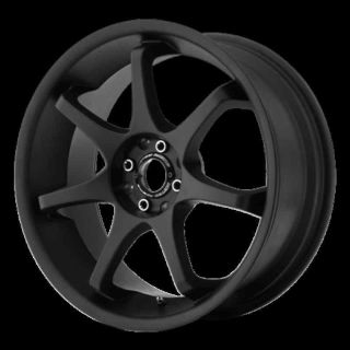 "Buy 17"" WHEELS RIMS MOTEGI MR125 SATIN BLACK PT CRUISER JETTA GTI CAVALIER CIRRUS motorcycle in Addison, Illinois, US, for US $549.00"