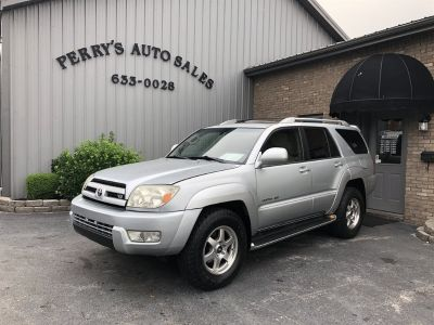 2003 Toyota 4Runner Limited (Silver)