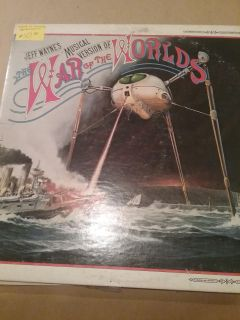 1978 war of the worlds record ! musical