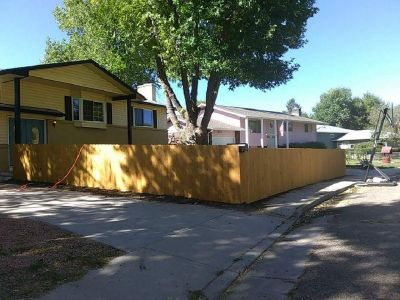 Fence and fence repairs. Wellding
