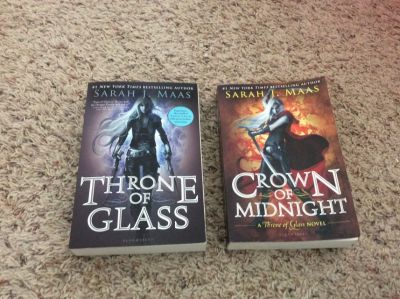 First two Throne of Glass books (Paperback)