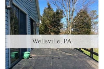 Wellsville - superb House nearby fine dining. Single Car Garage!