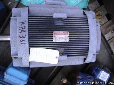 GE 5KL324AL2004 MOTOR, 50 HP