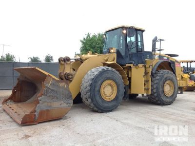 2007 (unverified) Cat 980H Wheel Loader