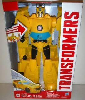 New! Hasbro Transformers Super Bumble Bee Action Figure