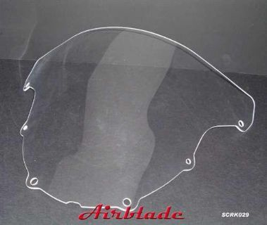 Sell Windscreen Kawasaki Ninja ZX6R ZX-6R 636 03 04 motorcycle in Ashton, Illinois, US, for US $49.99