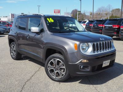 2016 Jeep Renegade Limited 4x4 (Granite Crystal)