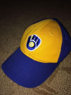 Milwaukee Brewers youth ball cap in EUC