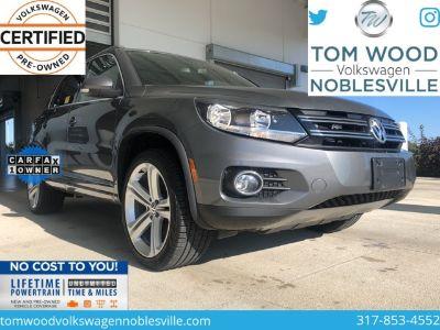 2016 Volkswagen Tiguan SE 4Motion (gray)