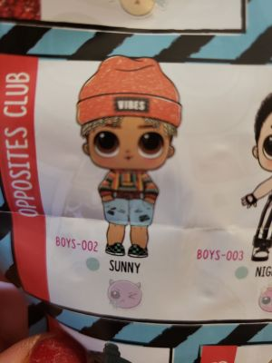 Lol Surprise Boys Series 1 Sunny