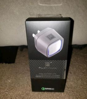 Platinum Wall Charger Qualcomm Quick Charge- Iphone - Samsung