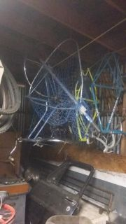 Large fishing net and extension pole