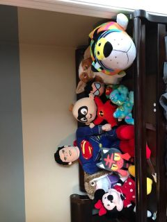 Stuffed toy/animal lot. Pick any or some ec