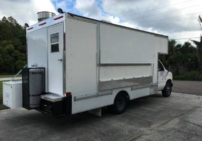 2003 Ford E350-Super-Du ty-Food-Truck