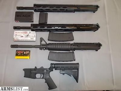 For Sale/Trade: AR 15 3Gun Set