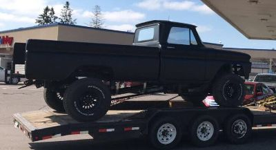 TURN KEY Pro stock 4x4 pulling truck