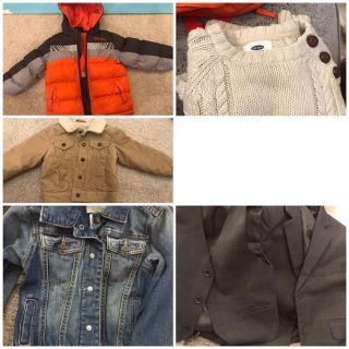 3T jackets, sweater and suit with vest all for $40