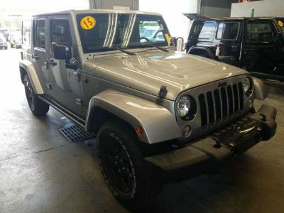 2015 Jeep Wrangler Unlimited Sahara **ONE OWNER**RECENT TRADE**ALTITUDE