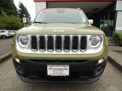 Used 2015 Jeep Renegade 4WD 4dr