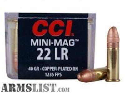For Sale: CCI Mini Mags - 22LR Ammo