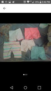 New 0\3 and 3 months shorts