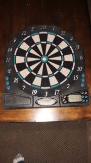 Electronic Soft - Tip Battery Operated Dartboard