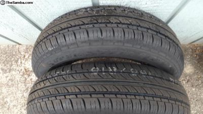 Federal 165/80R15 Tires 87T Tires (2)