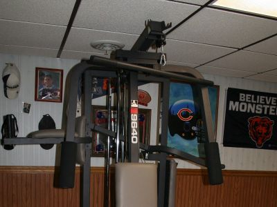 Weider pro 9640 home gym