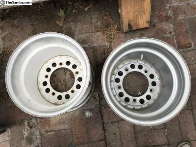 Wide 5 steel rims for sand rail or Baja