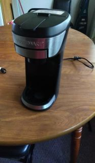 Farberware k cup coffee pot with filter