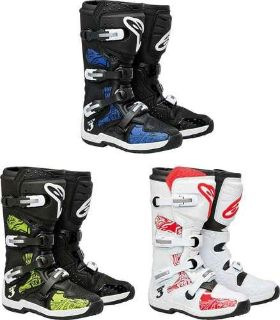 Sell Alpinestars Tech 3 Chrome Motocross MX ATV Dirtbike Offroad Racing Boots motorcycle in San Diego, California, US, for US $239.95