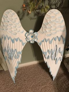 Angel wings to hang on the wall