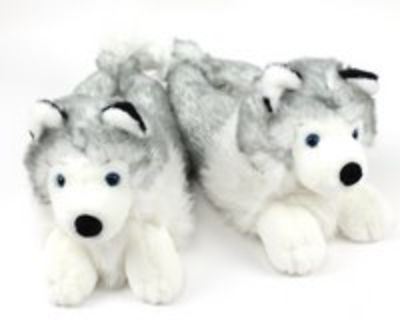 Husky house slippers for male or female