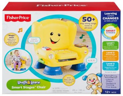 Brand new in box Fisher-Price Laugh & Learn Smart Stages Chair - English Edition