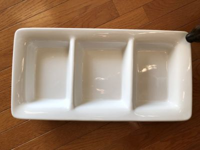 Entertaining 3 section tray