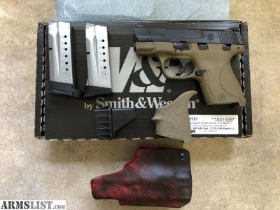 For Sale: M&P Shield FDE 9mm