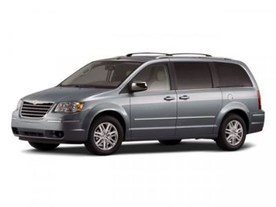 2008 Chrysler Town & Country Touring (Bright Silver Metallic Clearcoat)