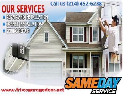 Broken Spring Replacement | Garage Door Repair | Starting $25.95
