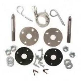 Purchase 70 71 72 Chevelle Cowl Induction SS Hood Pin Kit motorcycle in Placentia, California, US, for US $28.00