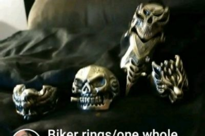 Biker rings(one whole finger ring)