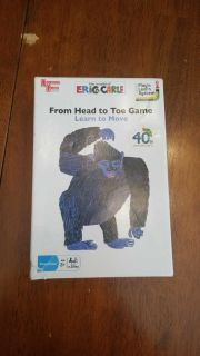 Eric Carle from head to toe game learn to move
