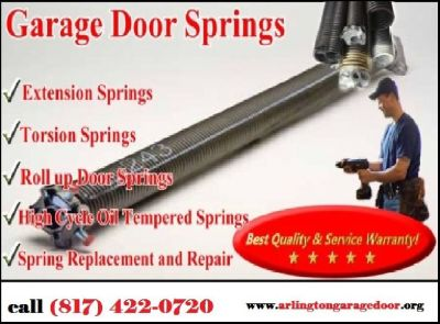 Professional Garage Door Spring Repair and Replacement ($25.95) Arlington Dallas, 76006 TX