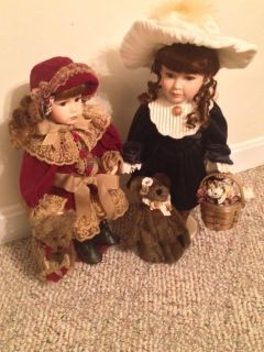Large Boyd's Collection Yesterday's Child Dolls