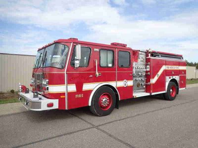 1998 E-One Pumper Fire Truck